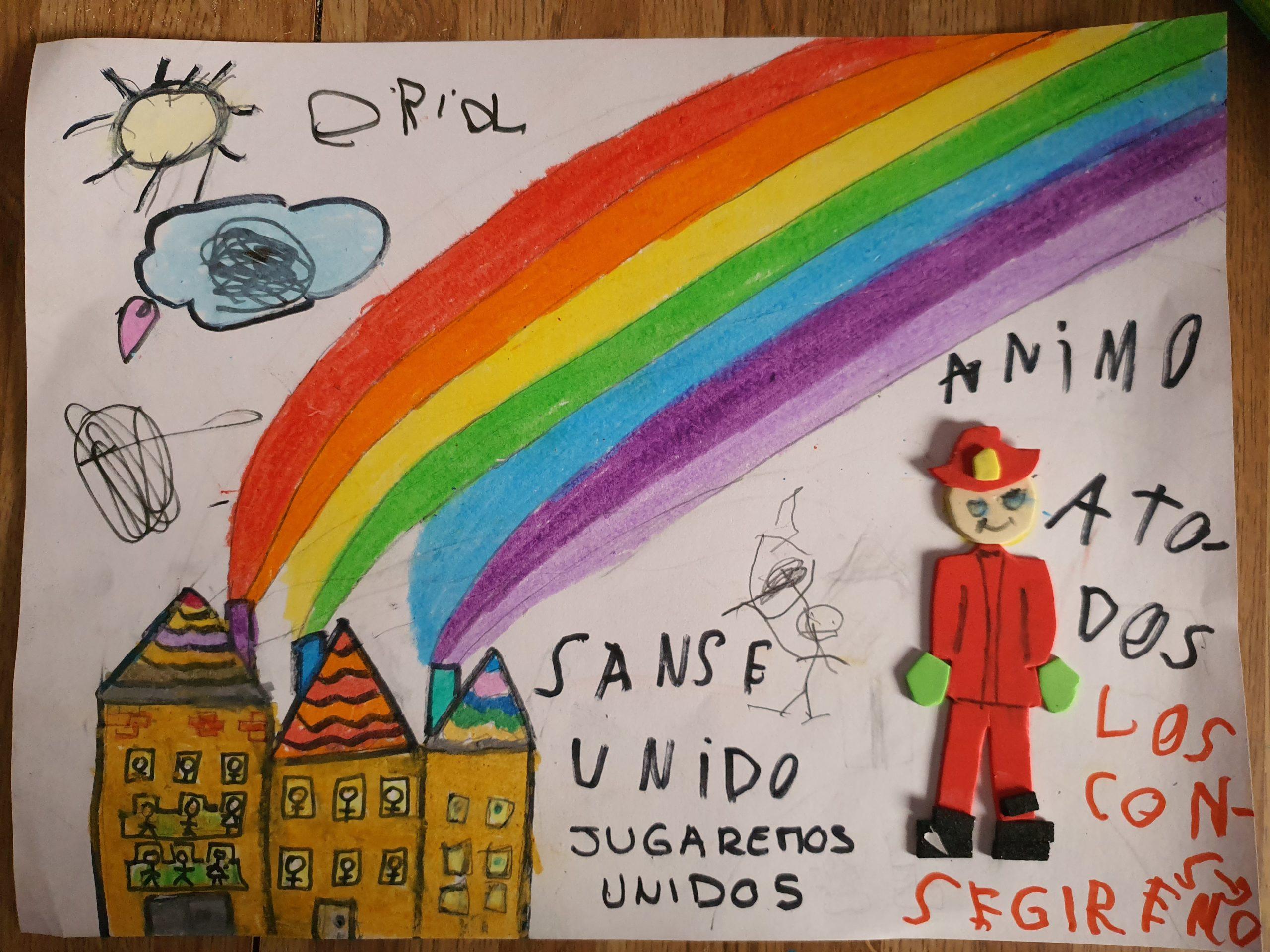 Uno de los dibujos del concurso