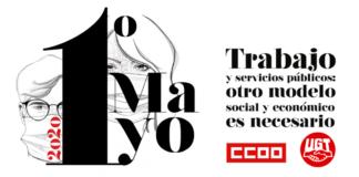 Cartel del primero de mayo 2020