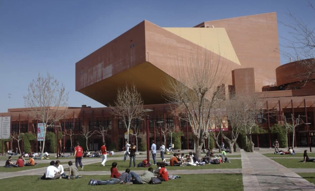 Leganés: campus universidad Carlos Tercero