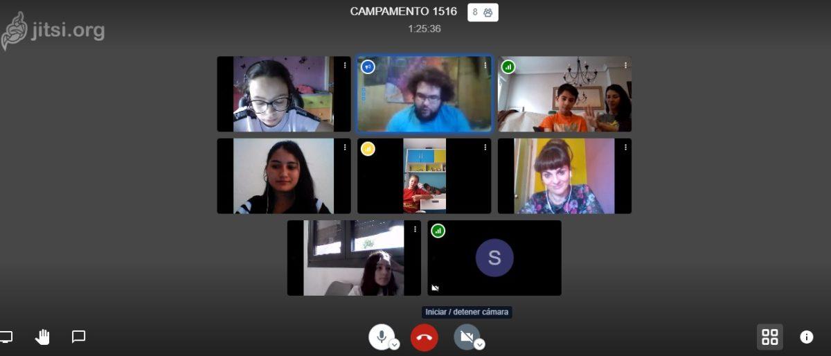 Imagen del campamento digital de Moraleja de Enmedio