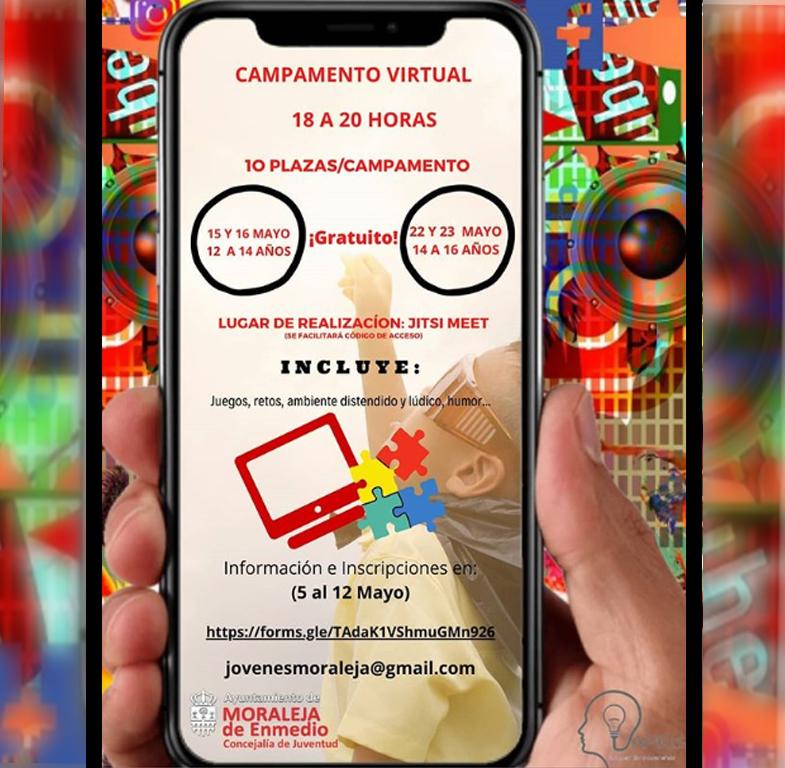 Información del campamento digital de Moraleja de Enmedio
