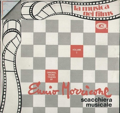 LP Tablero de ajedrez musical carátula