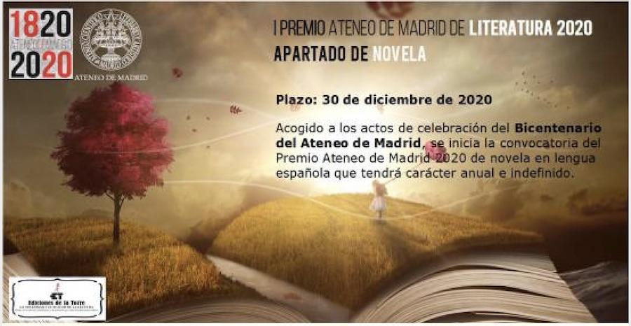 Ateneo Madrid premio novela 2020