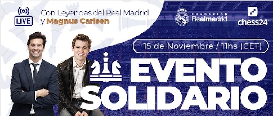Ajedrez Real Madrid solidario