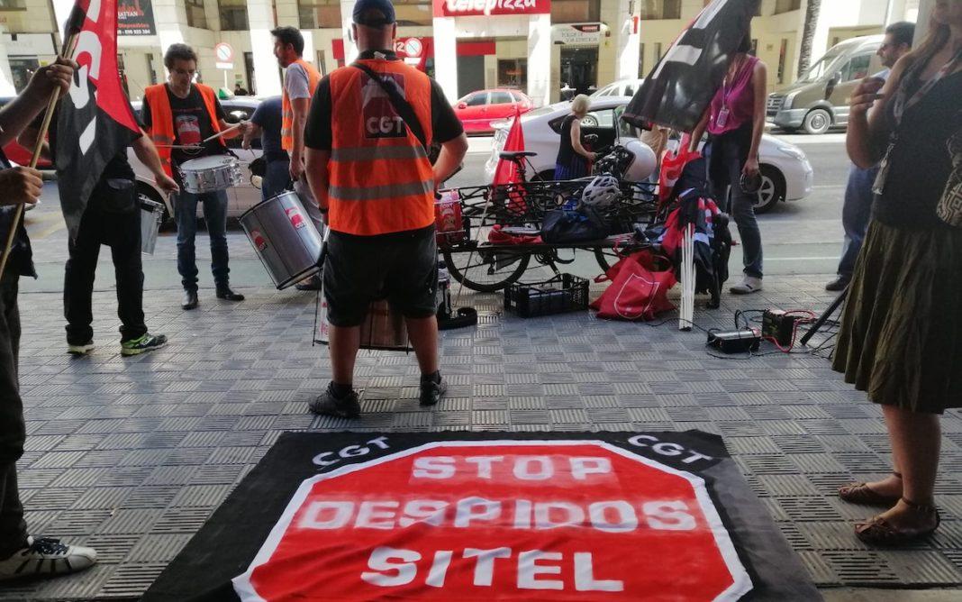CGT despidos SITEL