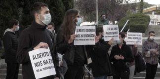 Hortaleza, Mar de Cristal, aparcamiento, protestas vecinos 18NOV2020