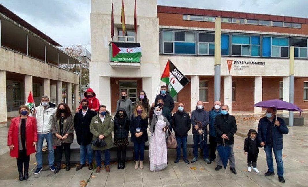Solidaridad en Rivas con la causa saharaui.