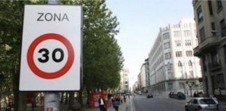 El límite mayoritario de velocidad en las ciudades españolas será 30 km/h   © Intras