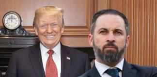 Abascal y Trump montaje