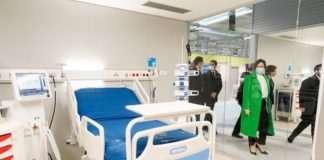 Díaz Ayuso inaugura el hospital Zendal