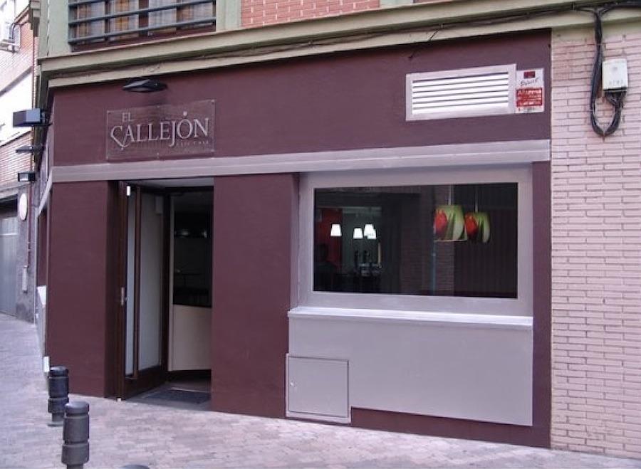 Leganés: bar El Callejón