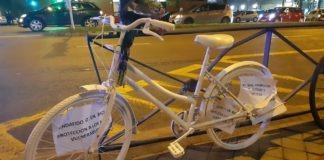 Pedalibre bicicleta blanca