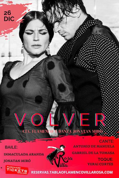 Villa Rosa cartel Volver 26DIC2020