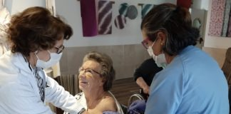 Vacunación en las residencias de mayores de Tres Cantos