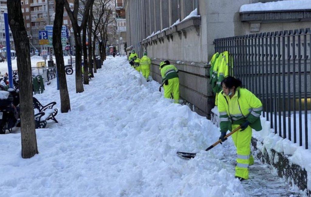 Madrid Filomena nieve 13ENE2021