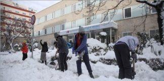 Filomena: voluntarios colaboran para mantener los hospitales abiertos