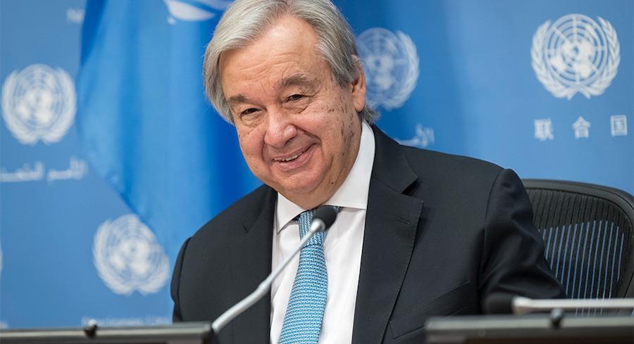 Antonio Guterres 22FEB2021 Ginebra