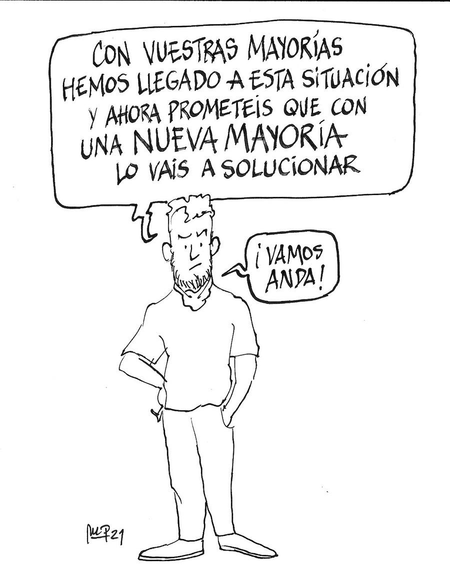 Miguel Porres mayorías