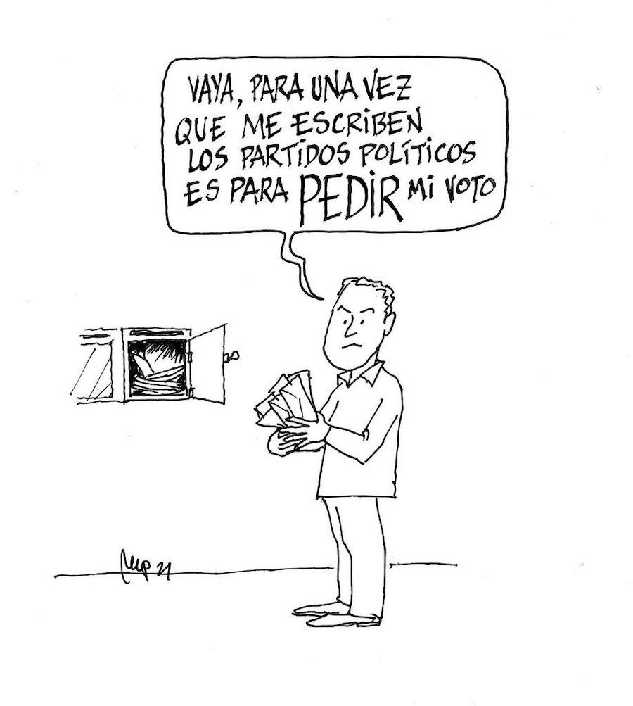Miguel Porres partidos y votos