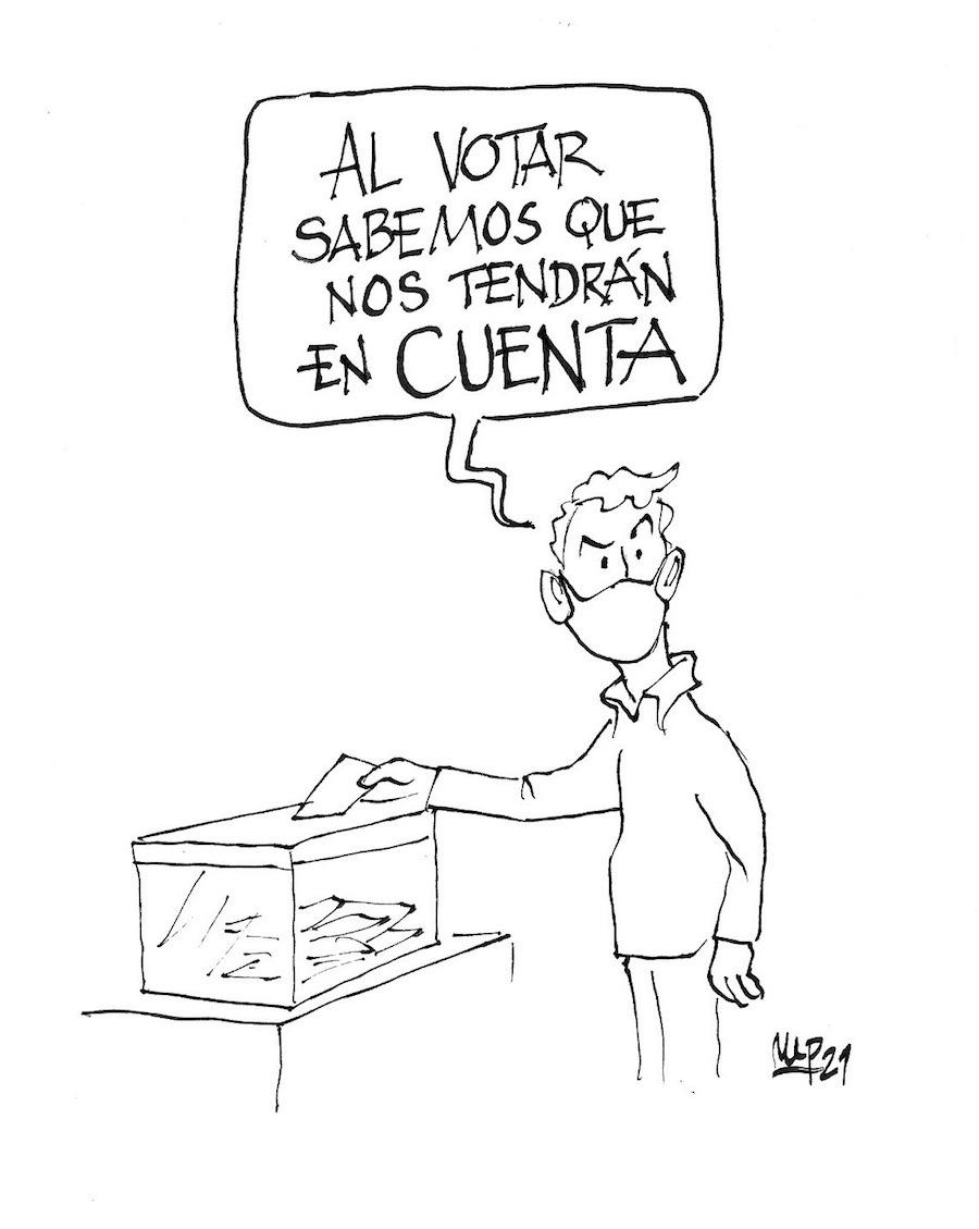 Miguel Porres una persona un voto